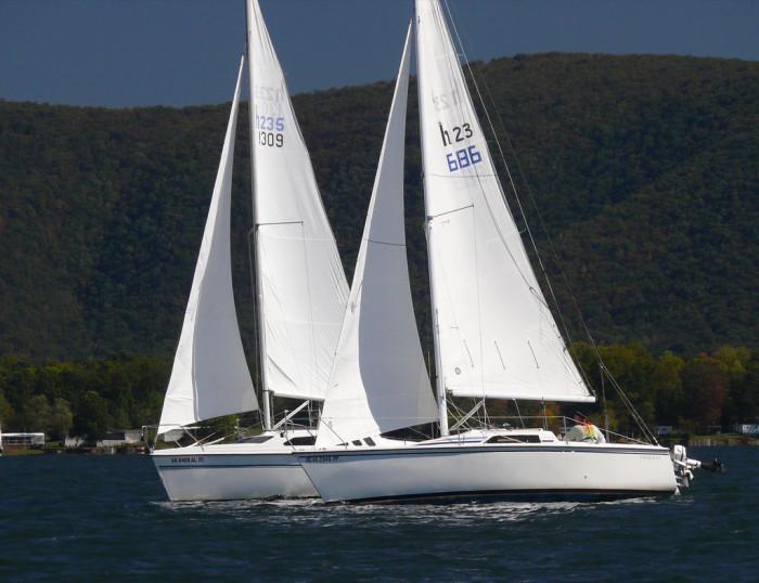 6. Set sail