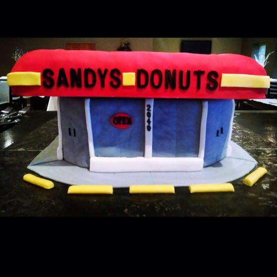 17) Sandy's Donuts, Grand Rapids
