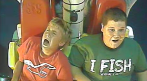Watch This Kid Totally LOSE It On A Tennessee Roller Coaster – LOL