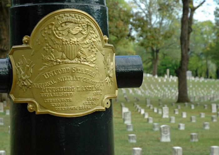 5) Shiloh National Military Park - Shiloh: