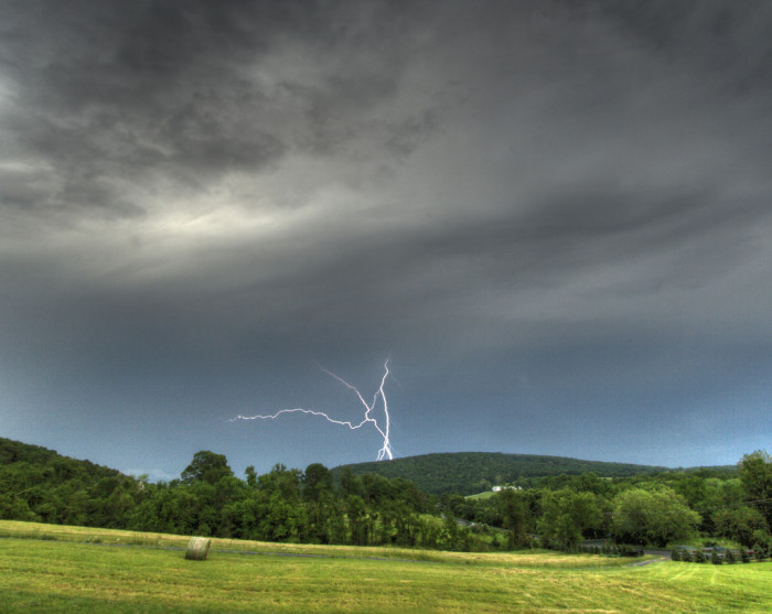 1. Lightning on Short Hill Mountain, Mechanicsville