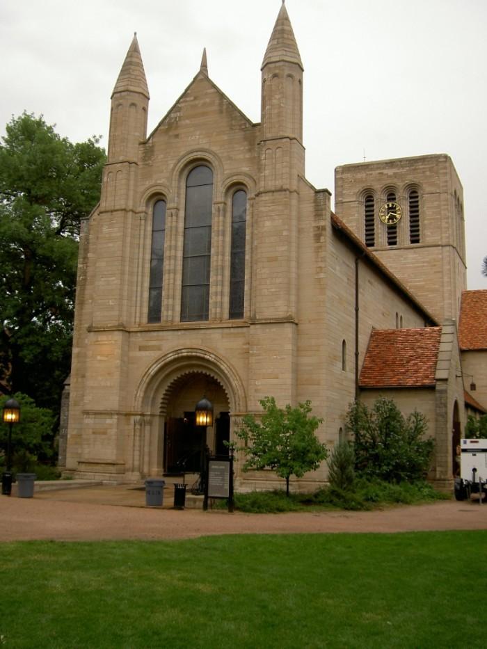 7) Shove Memorial Chapel (Colorado Springs)