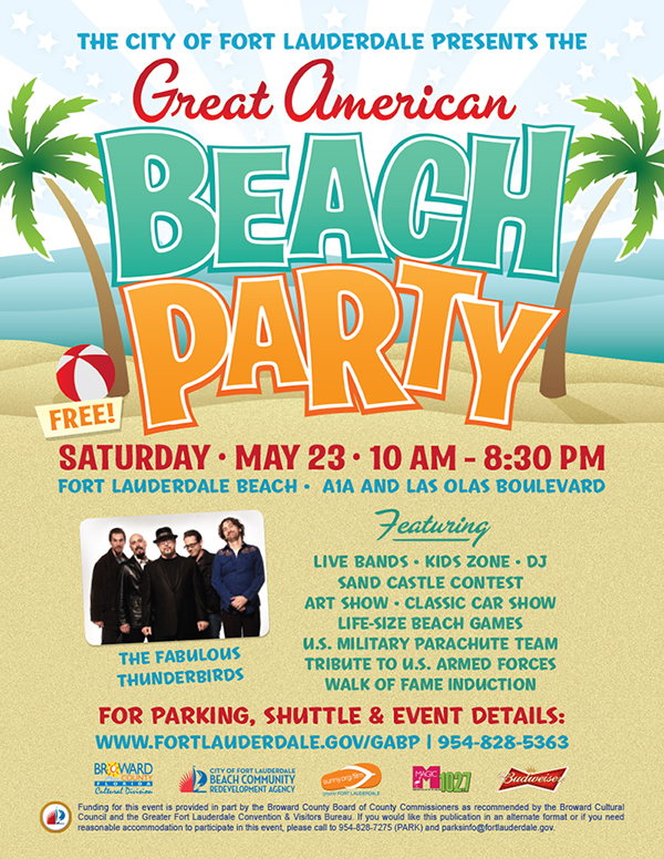 8. The Great American Beach Party at Fort Lauderdale Beach