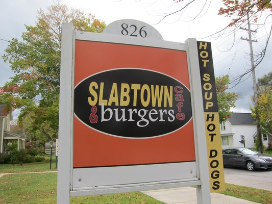 9) Slabtown Cafe and Burgers, Traverse City