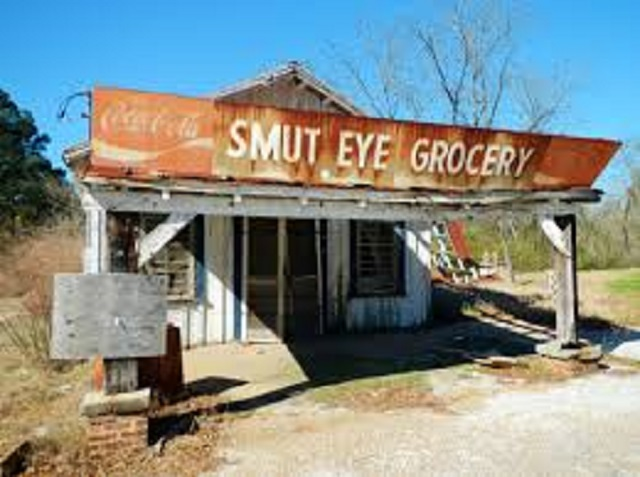28. Smut Eye, Alabama -  Supposedly, this community received its name when the local men would return home all covered in soot after socializing at the blacksmith shop all day.