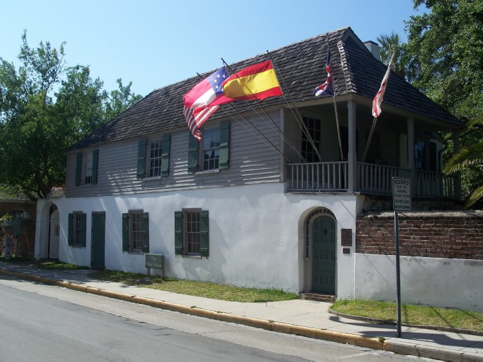 6. The Oldest House Museum Complex, St. Augustine, FL