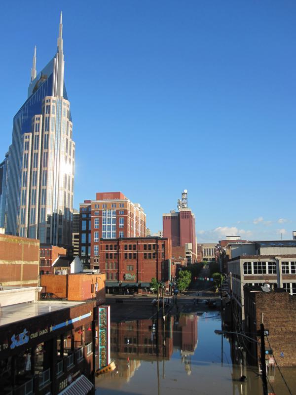 4) Great Nashville Flood - May 2010