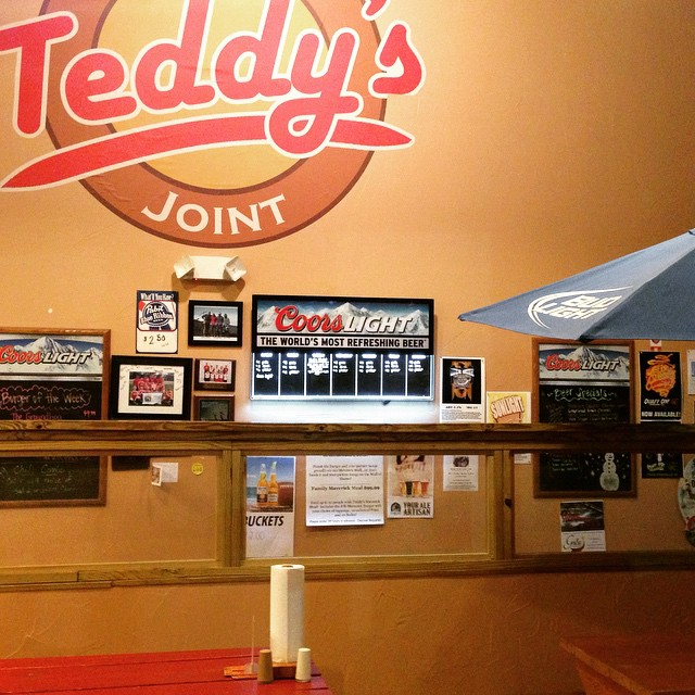 10.) Teddy's Burger Joint, Indianapolis