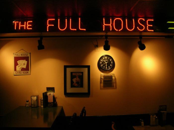 4) The Full House Restaurant, Ypsilanti