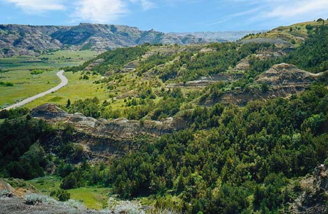 16. Theodore Roosevelt National Park, located in Billings and McKenzie Counties