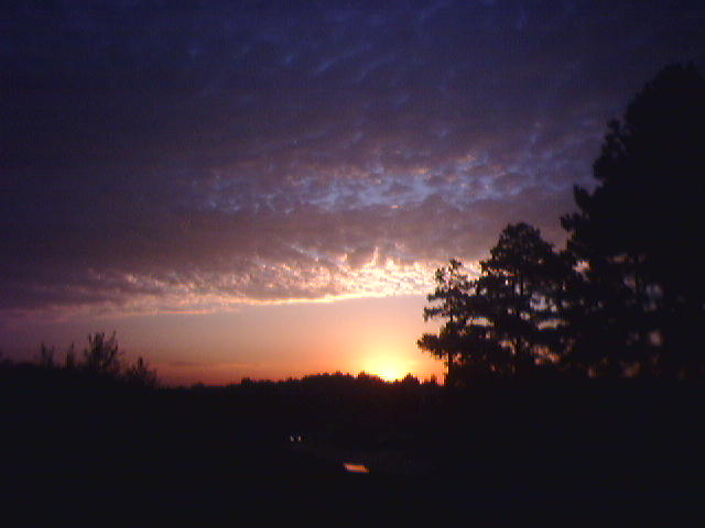 Thursday Morning Sunrise in Alpharetta, GA