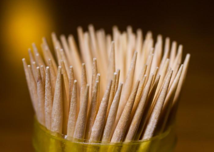 9. Thief Steals 400,000 toothpicks