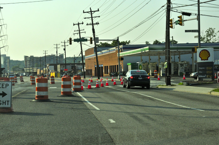5. Road construction is always, and I mean always, ongoing.