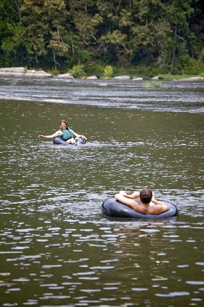 2. Go tubing down Little Cahaba River.