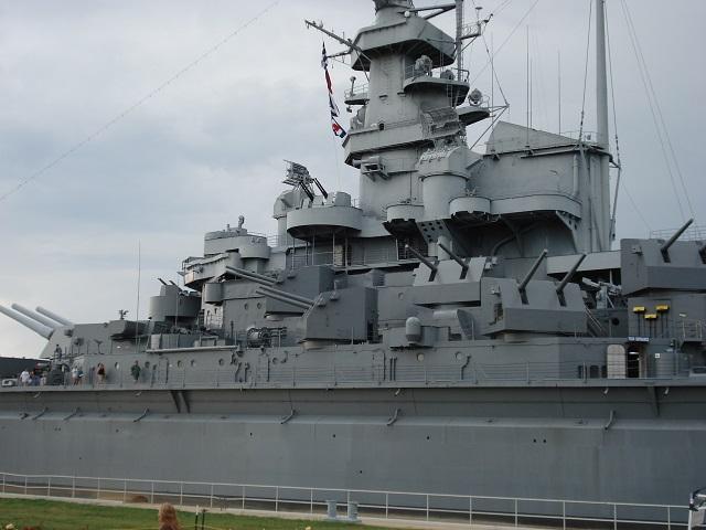 5. Take a trip to Mobile to explore the USS Alabama.