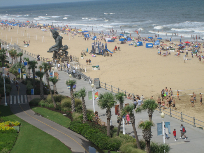 7 of the most amazing memorial day trips in virginia for Fishing spots in virginia beach