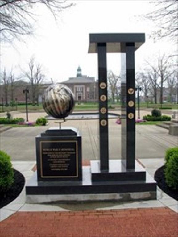 7. WWII Memorial in the Paducah City Hall