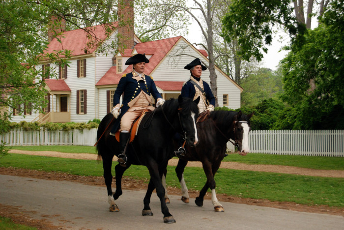 5. Colonial Williamsburg
