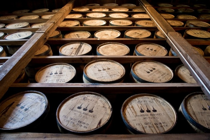 10.	There is more bourbon barrels then people in Kentucky? Possibly… if you include bottles too.