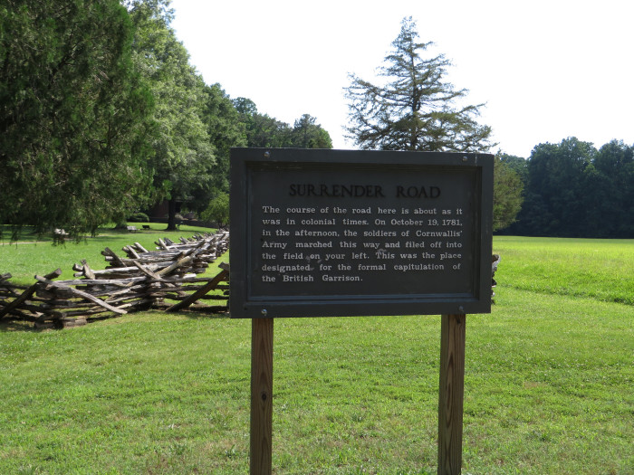 See Yorktown where America's independence began.