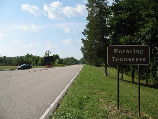 """29. Zip City, Alabama - Located in Lauderdale County, Zip City received its name because drivers would """"zip"""" through town heading towards the Tennessee state line to buy alcohol."""