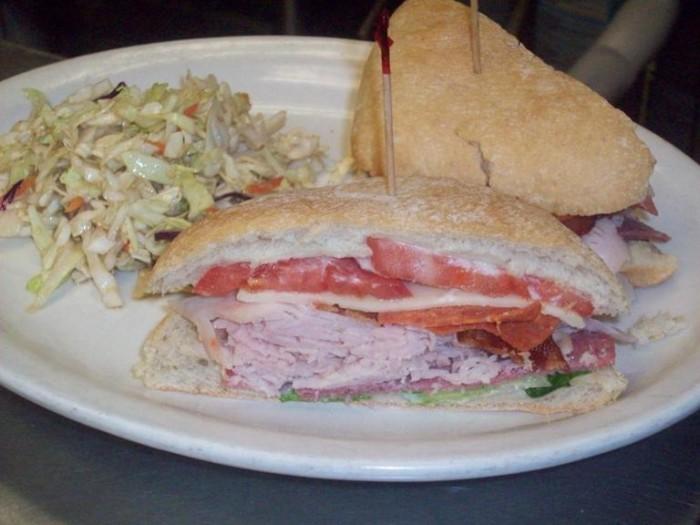 1A. Zola Turkey Sandwich.
