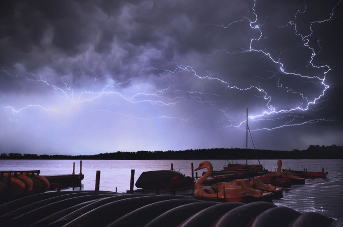 2. What a truly amazing shot of lightning in Madison.