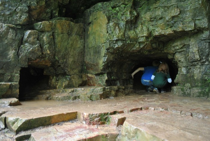 4. Cherney Maribel Caves County Park (Maribel) features some fabulous caves to explore.