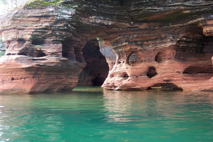 10. Devil's Island Sea Caves (Baraboo) provides some absolutely fantastic views.