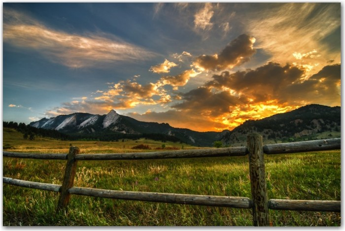 10 colorado sunsets that you have to see to believe