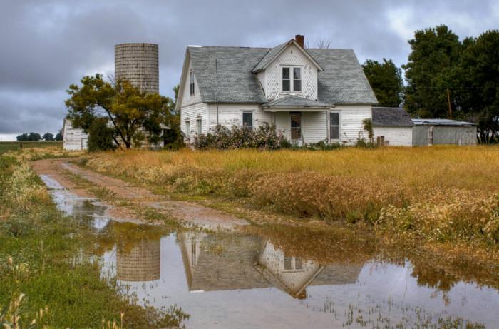 8.) Farmhouse in an Unknown Town