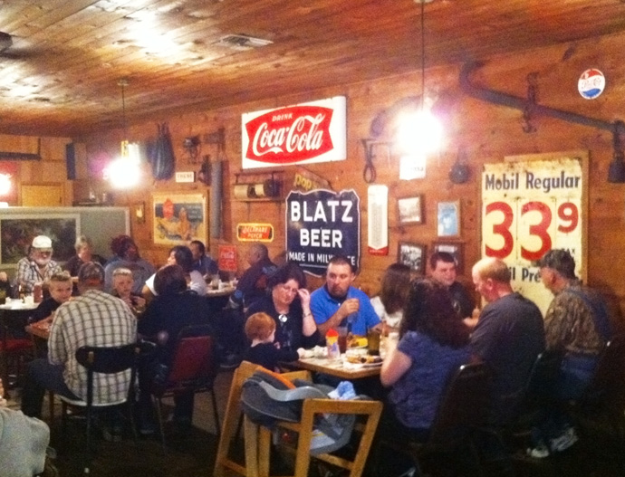 7. Abe's Ole Feed House: This South Arkansas restaurant (located outside of El Dorado) is housed in an old country store and has gained a regular following with its all-you-can-eat dining options.