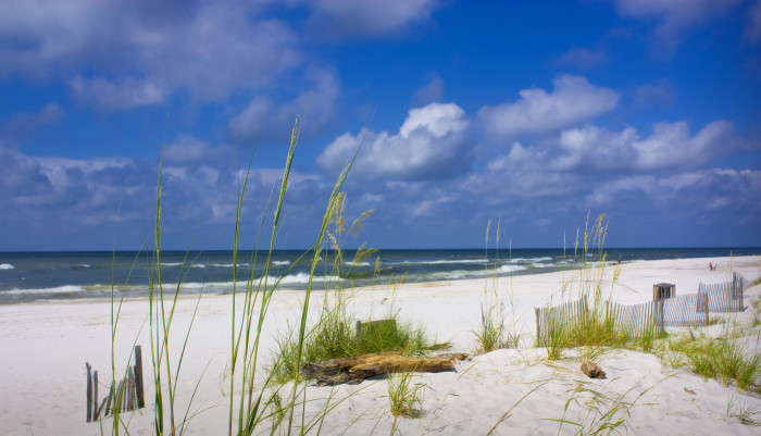 and gorgeous white-sand beaches that stretch along the coastline.