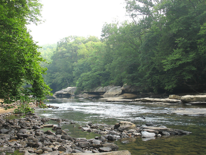 1) Audra State Park is located in Buckhannon, WV.