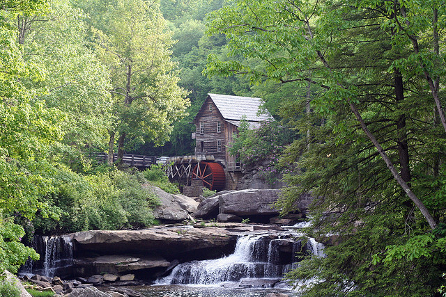 5. Babcock State Park