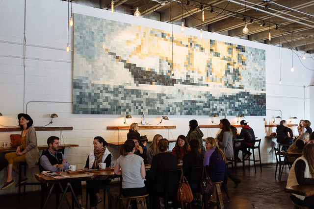 4) Barista Parlor on a Saturday. Named multiple times as one of the top coffee shops in the nation, BP is always packed. But on a Saturday?  You may find yourself waiting for more than an hour just for that $6 coffee you just invested in - yikes!