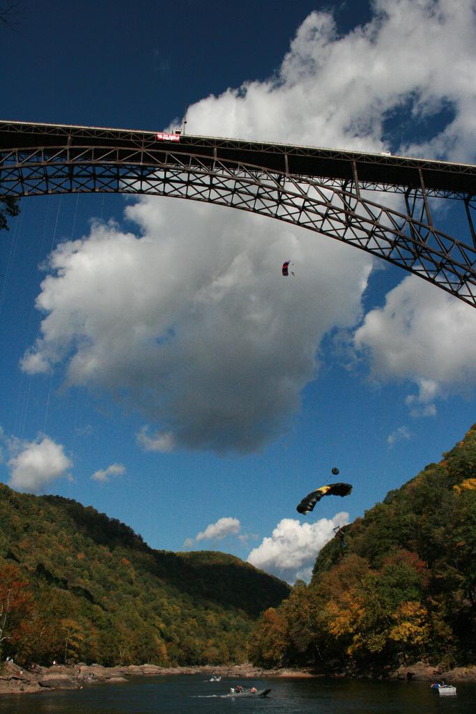 10) Oldest Base Jumper