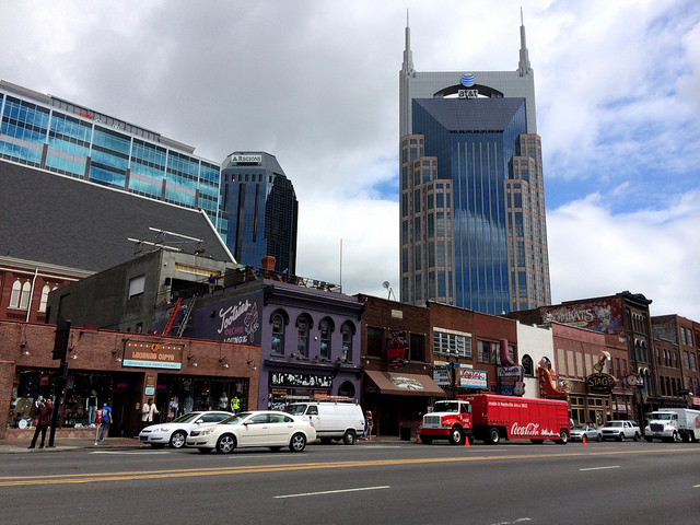 13) The Nashville Batman Building
