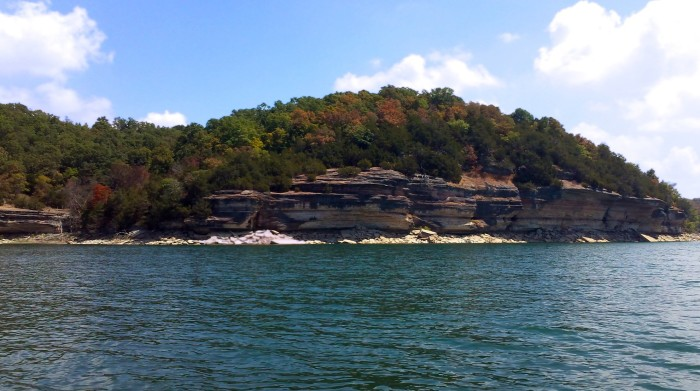 16. Beaver Lake: A man-made reservoir in the Ozark Mountains of northwest Arkansas,  this lake is formed by a dam across the White River.