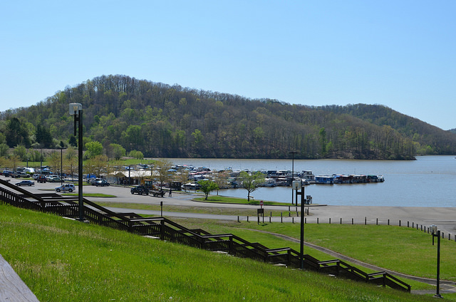 4) Beech Fork State Park is in Barboursville, WV.