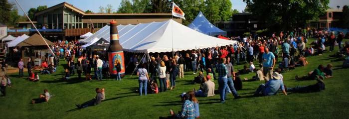 15) The Beer & Brat Festival