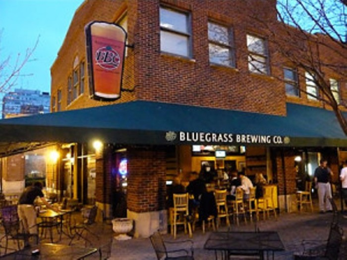 bluegrass brewing company Bourbon barrel loft located in the  historic 300 building, the artistically.