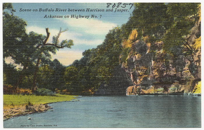 30. Buffalo River: Still a popular destination for Arkansans and travelers from everywhere, this is postcard proof that the Buffalo has always been beautiful.