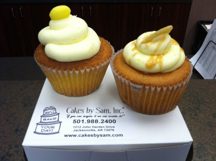 15. Cakes by Sam in Cabot and Jacksonville: Try the Banana Caramel cupcake, the Peanut Butter Chocolate cupcake, or the German Chocolate cupcake - you'll love them all. The cookies here are excellent as well!