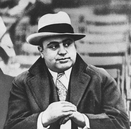 6. Al Capone: The safe, secluded, and scenic location of Hot Springs made it the ideal hideout for a gangster as notorious as Al Capone, who made the resort town one of his preferred getaways and would rent out entire floors of Hot Springs hotels for himself and his entourage. The political and legal corruption of the town made it a gambler's paradise long before Las Vegas made its mark on society.