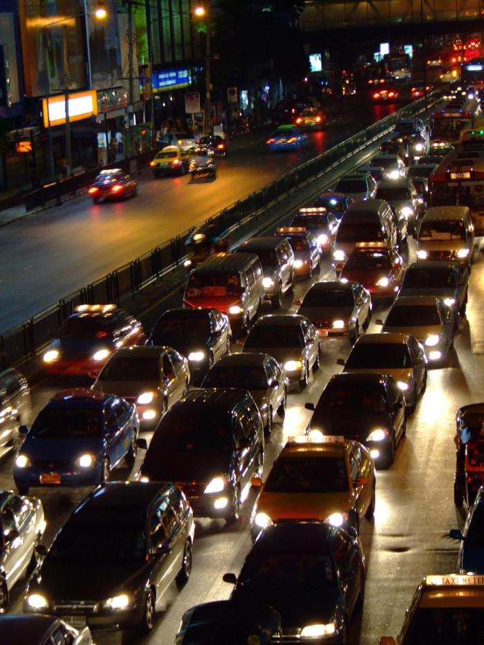 9. You are sick and tired of traffic jams.