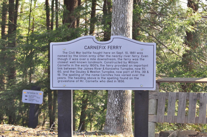 2) The Civil War Reenactment at Carnifex Ferry Battlefield State Park takes place on May 23rd.