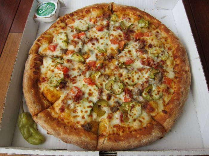 3) Cheeseburger Pizza