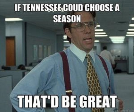 18) That ridiculous Tennessee weather. Amiright?!