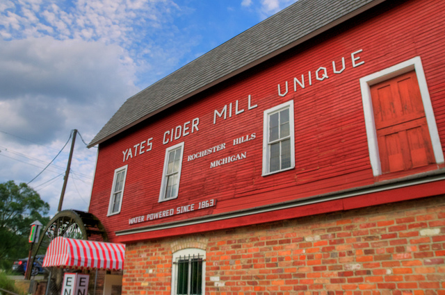 6) Have gone to a cider mill.